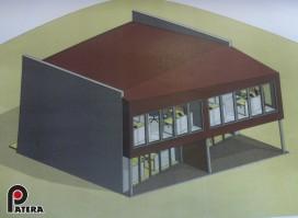 Išnuomojamas naujos statybos komercinis kotedžas su vaizdu į Nerį
