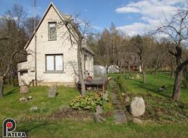 Parduodamas šalia Kauno 6 arų sodas Vanagynėje su mūriniu namu